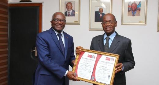 Le Port Autonome de San Pedro, 1er port ouest africain certifié à la version 2015 des normes ISO 9001 et 14001 feature image
