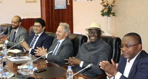 Visite de prospection d'une délégation marocaine SOMAGEC à l'affût des opportunités du port de San Pedro feature image
