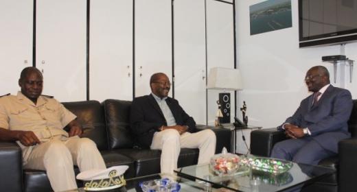 Le Ministre du tourisme en visite à San Pedro feature image