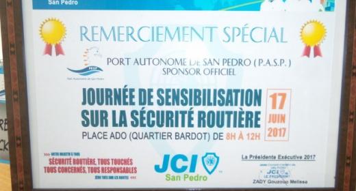 Le Port Autonome de San Pedro au côté de la JCI San Pedro pour une journée de sensibilisation feature image