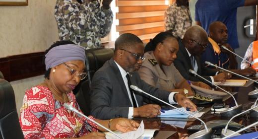 installation de la nouvelle cellule juridique de la zone maritime ouest de la Côte d'Ivoire feature image